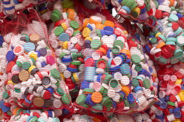 waste bottle caps