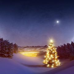 Weihnachten im Gebirge