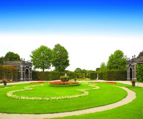 Schonbrunn gardens, Vienna