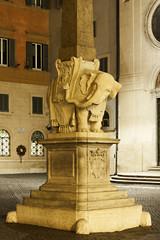 Bernini elephant, Rome