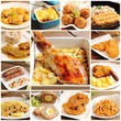 Collage of meat recipes