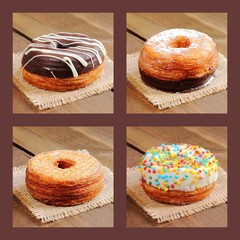 Assortment of cronuts