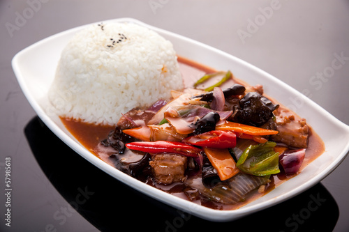 Juliste Steamed rice
