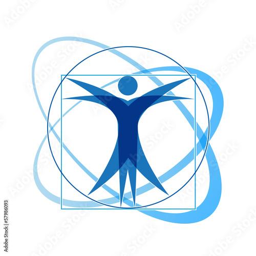 Vector Logo Leonardo da Vinci