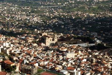 MONREALE panoramica con il Duomo