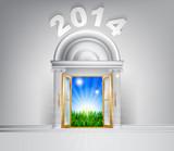 New Year Hope Door Concept 2014