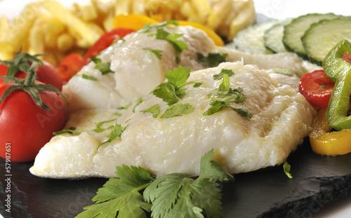 Bacalao cocinado