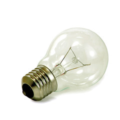 light bulb isolate
