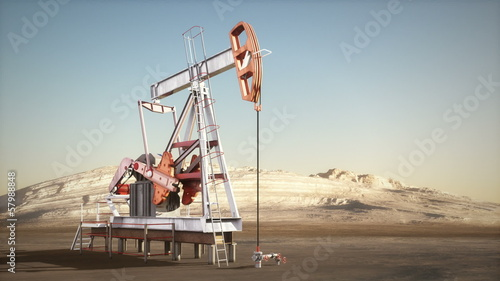 Working oil jack