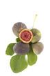 Delicious ripe figs.