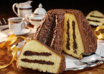 chocolate panettone