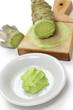 grated fresh wasabii by shark skin grater