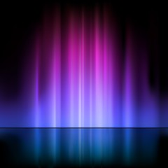 Colored Light Fountain - Abstract Background