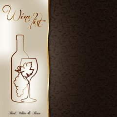 Wine list_gold_II