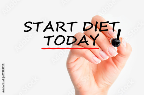 Start diet today