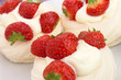 Meringue & Strawberries