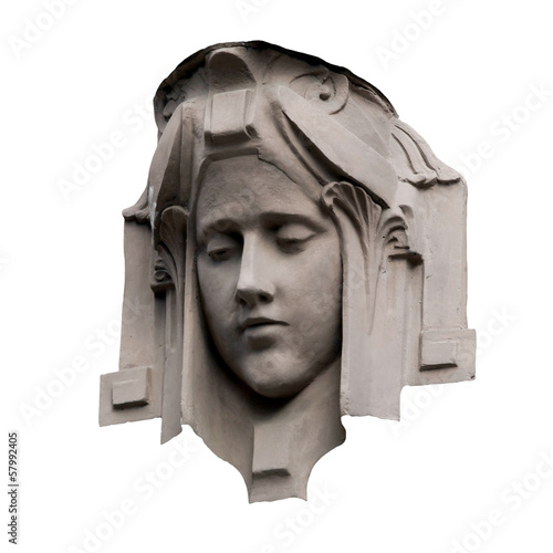 Decorative female head © umlaut