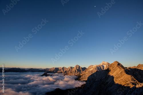 Poster Autumn mountains