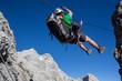 Via ferrata climbing (Klettersteig)