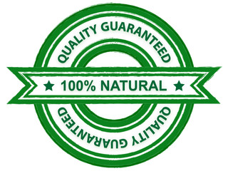 Quality guaranteed natural