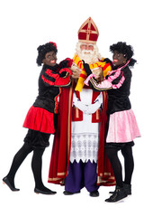 Sinterklaas having a cold