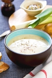 Leek and Potatoes soup