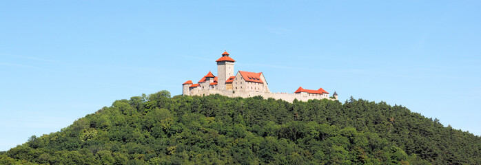 Veste Wachsenburg in Thüringen - Panorama