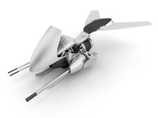 air scooter with jet engine