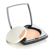 Fototapety Face powder isolated on the white