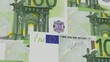 100 Euro Bills Fly (HD Loop)
