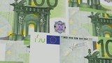100 Euro Bills Fly (HD Loop)