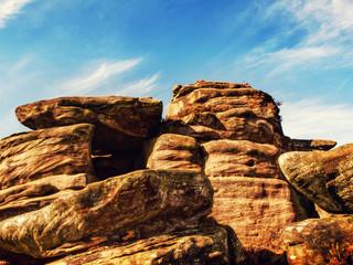 blue sky rock