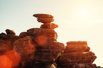 sunshine balanced rocks