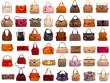 Leinwanddruck Bild - Female bags collection