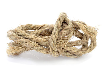 worn rope