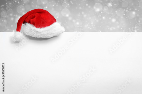 Leinwandbild Motiv Weihnachtliches mit Textfreiraum