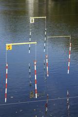 Kanu-Wildwasserstrecke in Hohenlimburg, NRW, Deutschland