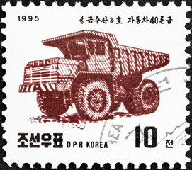 Tipper truck (North Korea 1995)