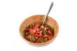 a salad of tomato