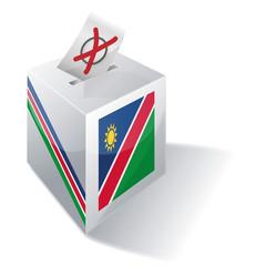 Wahlbox Namibia
