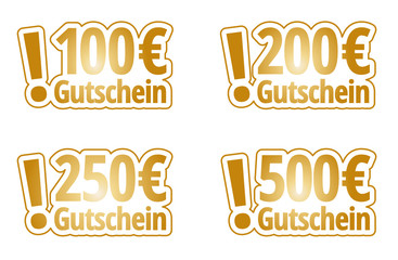 Gutschein-Set