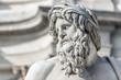 Leinwanddruck Bild - Roma, Fontana dei Quattro Fiumi (part.)