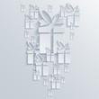 Vector gift background. Eps10