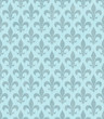 Teal Fleur De Lis Textured Fabric Background