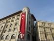 Sorgfältig restaurierte Altbaufassaden in Istanbul Eminönü