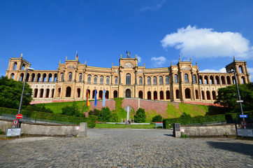 Maximilianeum Bayerischer Landtag München Bayern