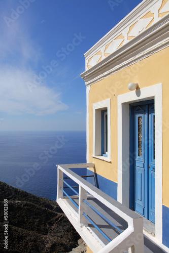 Haus am Hang auf Karpathos