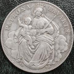 Religious german coin