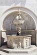 Leinwanddruck Bild - Onofrio Fountain in Dubrovnik, Croatia