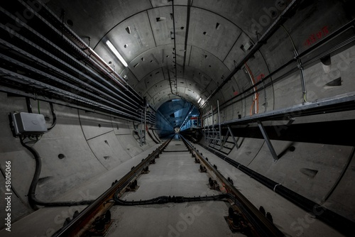 Aluminium Tunnel Underground tunnel for the subway